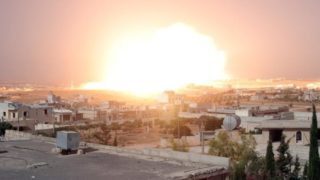 Thermobaric bombs being used on jihadis, traps set up by retreating Syrians to catch them in open areas with no civilians