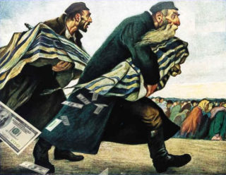 zionists take American money
