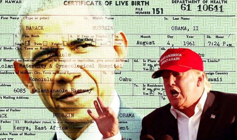 Birther Trump Aborts Birther Trump