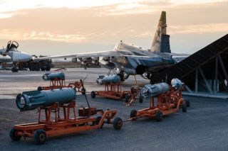 The Russians now have a well trained air force delivering very cost effective punch for the dollar