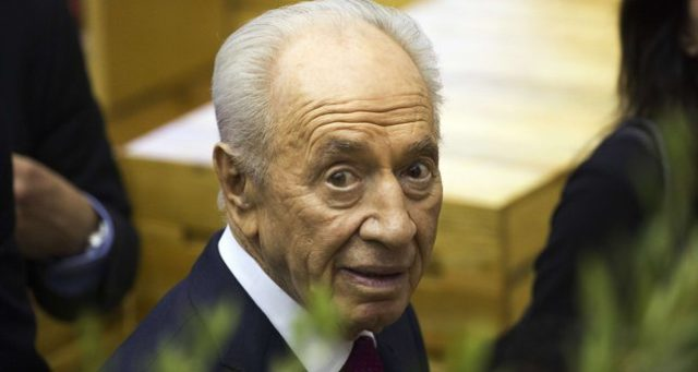 It will be goodbye and good riddance when Peres is gone, another two bit politician like so many others in Israel