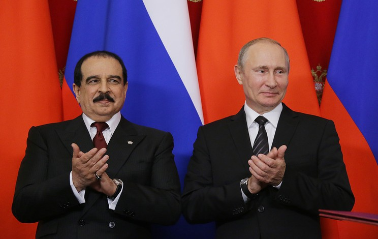 Kremlin: Putin and King of Bahrain discussed military cooperation