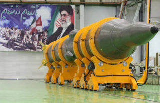 Iran did have 2000 medium range missiles which the Chinese had helped make accurate to 50 feet.