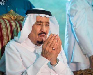 King Salman kept a low profile after the disaster