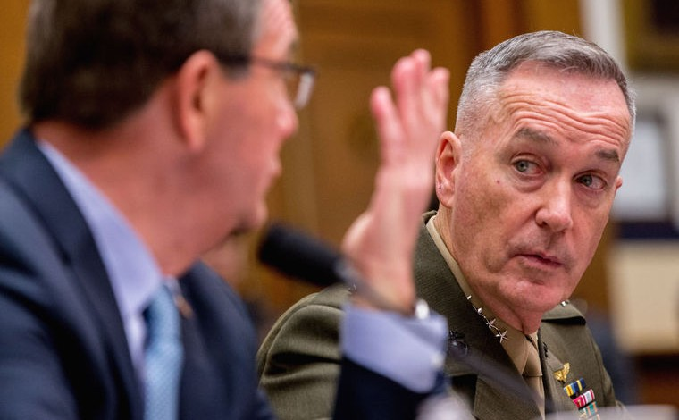 No-fly zone would 'require war with Syria and Russia' – General Dunford