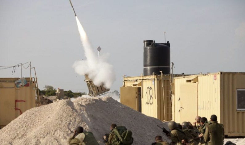 In First, Israel's Iron Dome Intercepts Mortar Shell Fired From Syria