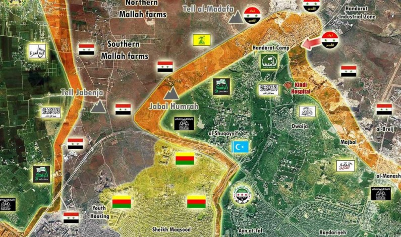 Battle for Aleppo's north flank: 09-30-16