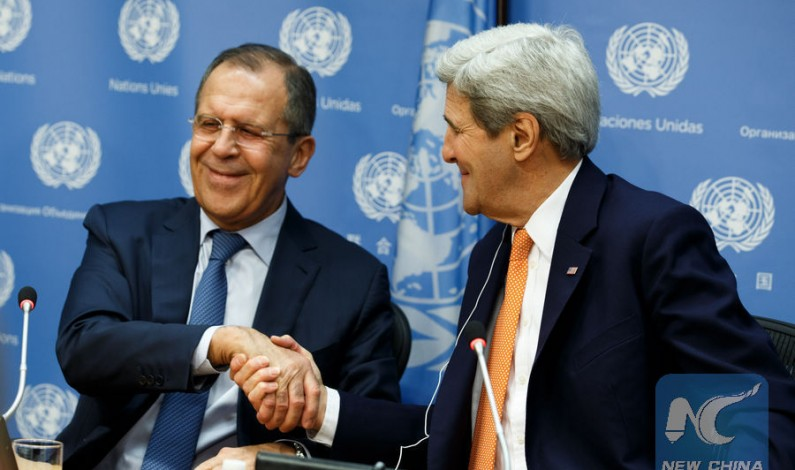 Kerry and Lavrov announce new Syria ceasefire plan