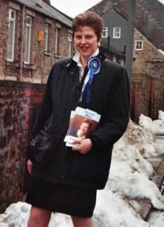 May - campaigning in her early years