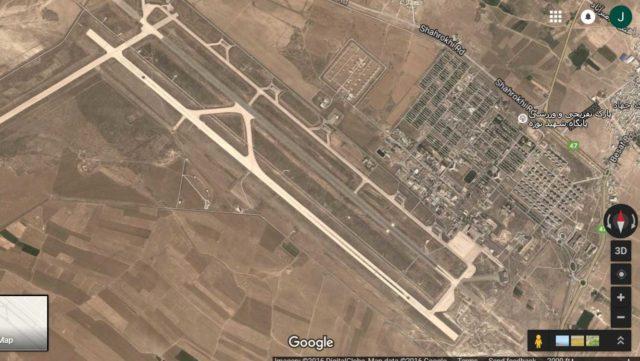 Hamadan air base in Iran