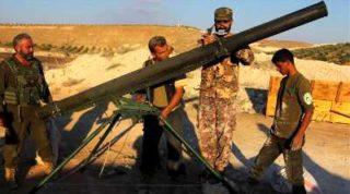 The new longer range grad rockets
