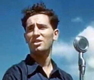 The young Shimon Peres