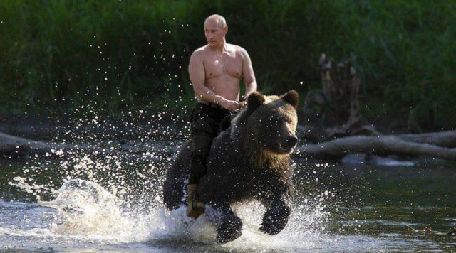 Mother's around the world hide your children. Putin is on the loose!