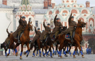 Red Square Military Parade Moscow