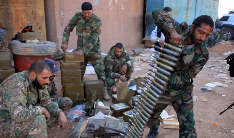 Syria army starts offensive to recapture militant-held eastern Aleppo