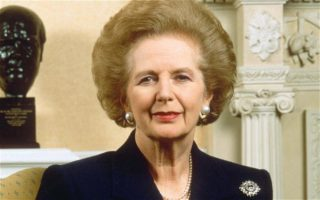 Margaret Thatcher in her prime