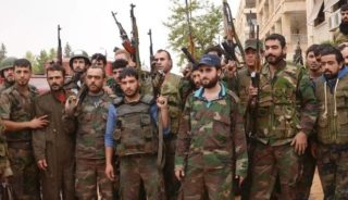 The Syrian army still has a lot of fight left in it.