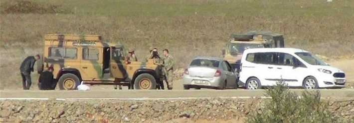 Turkish military in Syria, without permission