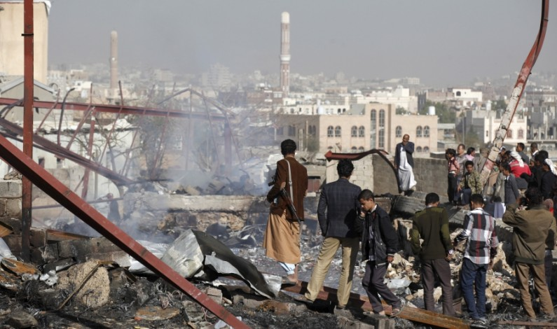 Saudis have used cluster bombs over and over to attack the residential areas in Yemen