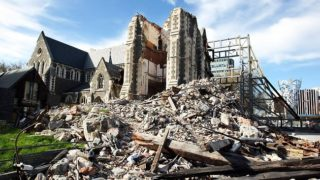 Christchurch earthquake New Zealand