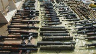 Gun, guns, and more guns
