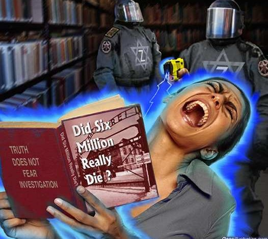 "The ""six-million killed"" lie—the hoax of the twentieth century"