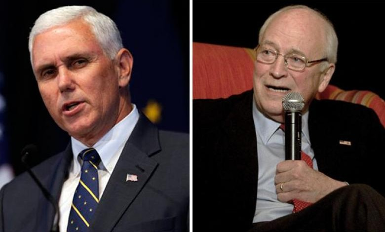 Trump's VP Mike Pence Hails Dick Cheney as His 'Role Model'