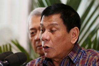 Philippine President Rodrigo Duterte (Erik De Castro/Reuters)