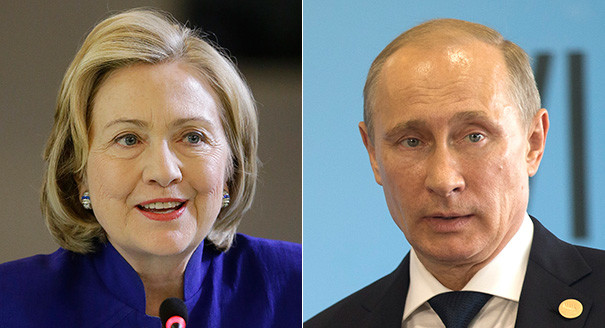 Vladimir Putin to Hillary: Get in the ring for round 2