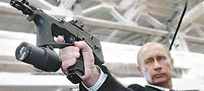 """""""Duck, he's got a gun!"""""""