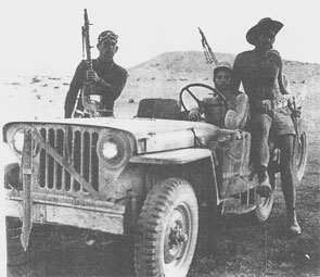 Samson's Foxes was a Jeep-mounted assault unit that operated in the southern frontier during Israel's War of Independence. The unit was part of the Givati brigade and after the war it was disbanded. In the year 2002, a new battalion of the Givati brigade adopted the legendary name. The Fox with the burning tail became to be the official emblem of the Givati brigade after its reestablishment in the year 1983.