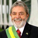 Then Brazilian President Lula da Silva