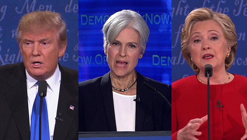 The Debate We Should Have – Trump, Stein And Clinton