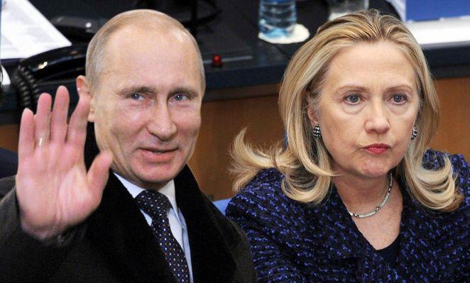 """Hello Hillary. Kak dela?"""