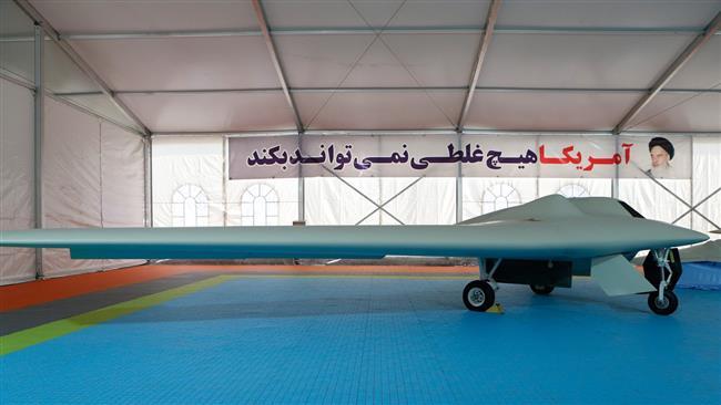 Iran's IRGC unveils new combat drone