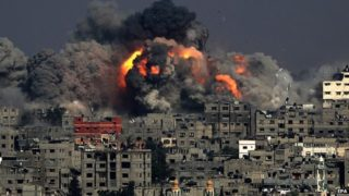 Israel's 2014 military attack on Gaza civilians