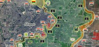 """The """"Citadell pocket"""" inside central Aleppo"""