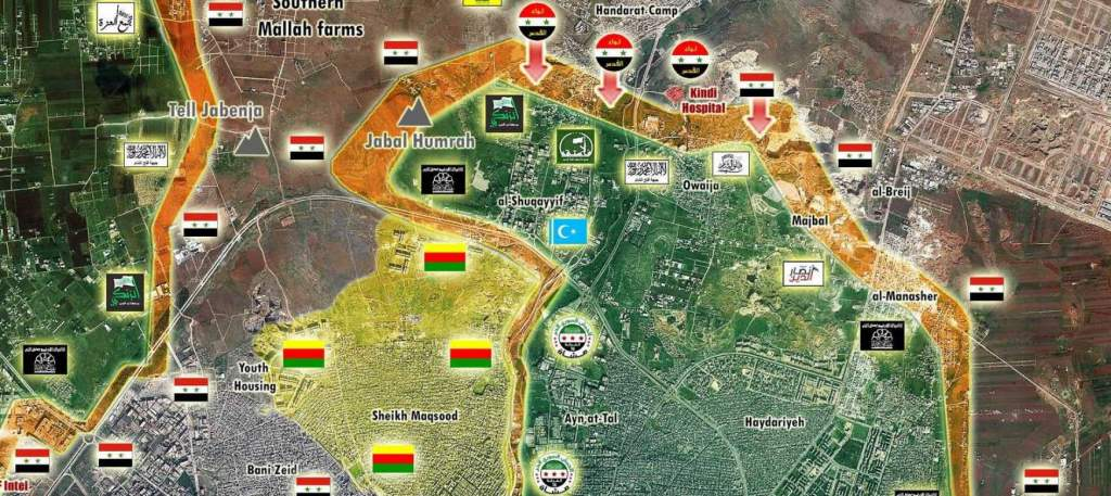 Aleppo's northern front, 09-30-16