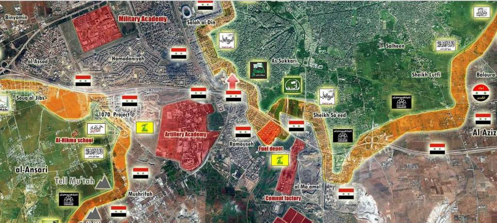 The Aleppo southern front - 09-3016