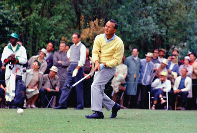 Arnold Palmer & Dow Finsterwald at Masters