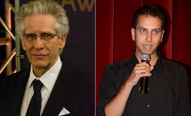 David and Brandon Cronenberg