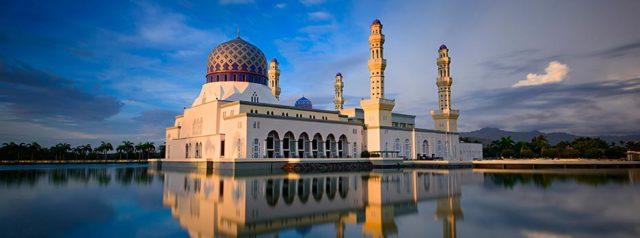 The Floating Mosque of Kota Kinabalu, Sabah