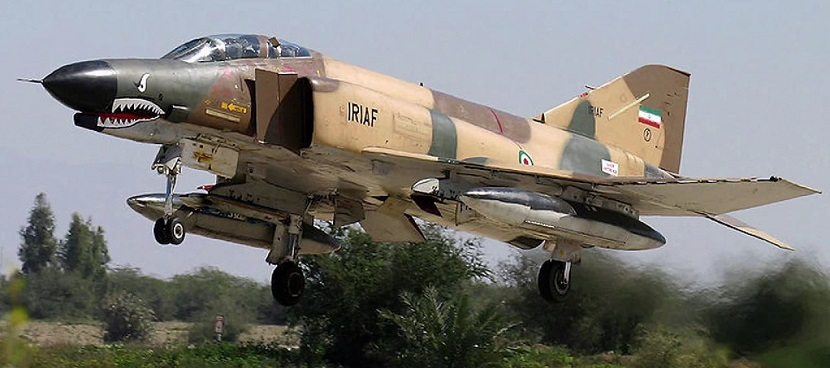 Iranian aircraft have carried out strikes against the Islamic State. (Photo: TomoNews US)