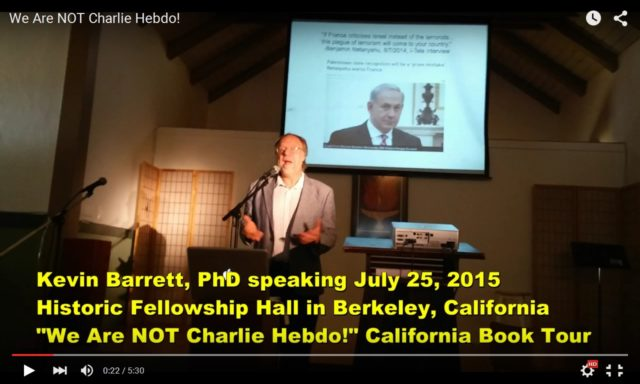 """An earlier Berkeley event - before I was """"banned"""""""
