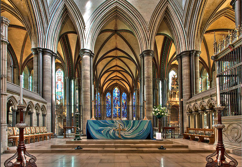 The politically entrenched Church of England ~ Salisbury Cathedral