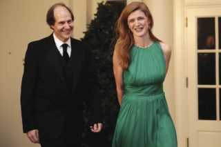 Jewish Zionist Cass Sunstein married to Roman Catholic Samantha Power