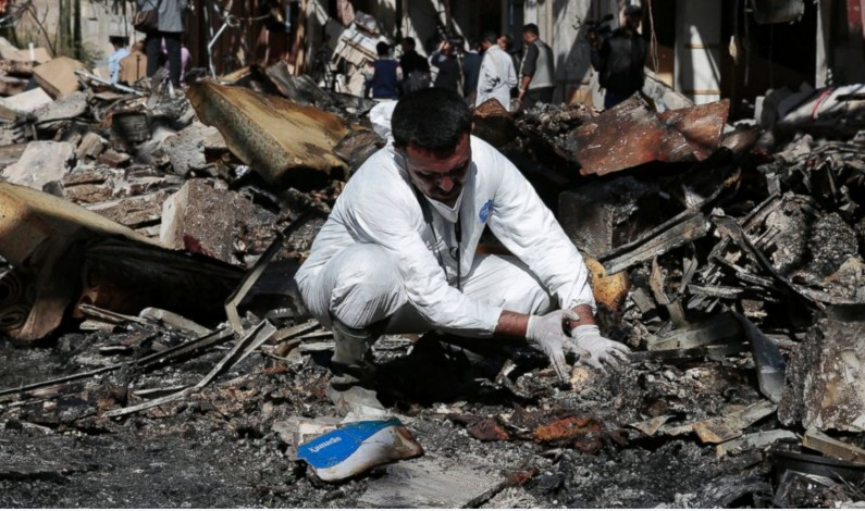 ABC News: US-Made Bomb Used in Airstrike on Funeral in Yemen, Human Rights Watch Says