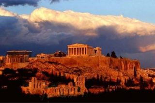 A storm is gathering over ancient Greece once again