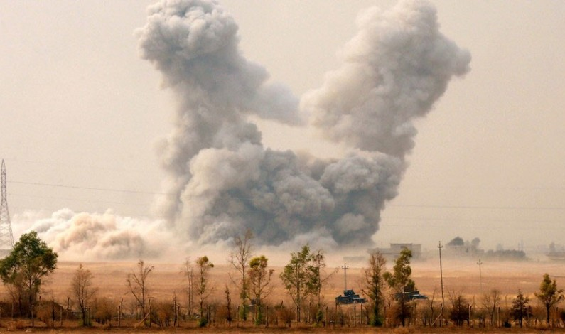 US Airstrikes on Iraqi Army Slowing Advance on Mosul