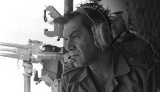 David Elazar during the Yom Kippur War
